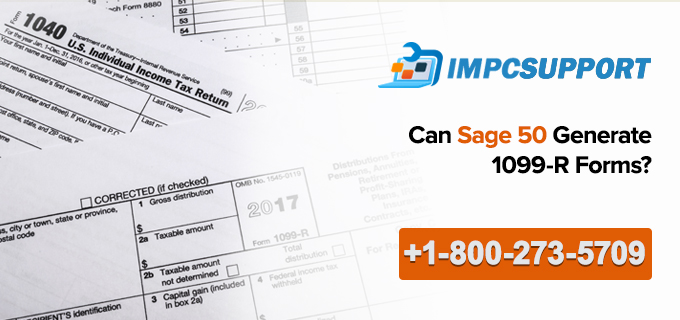 Can Sage 50 Generate 1099-R Forms?